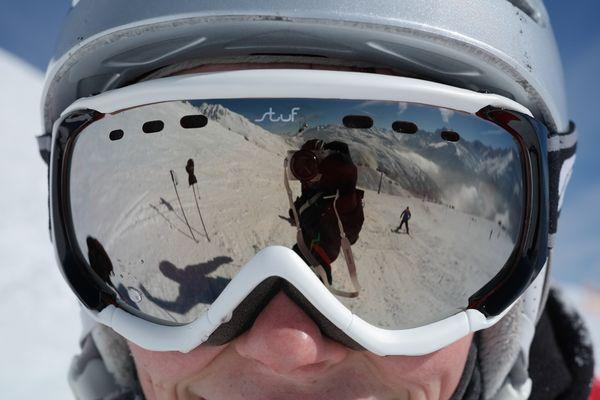 Wenn der Berg ruft: Nicht ohne Skibrille