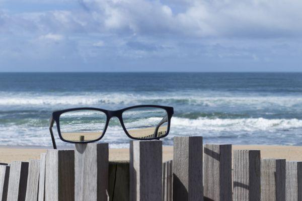 Nur mit Ersatzbrille in den Urlaub
